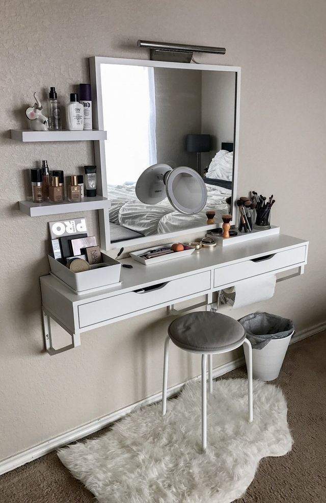 makeup ideas small regarding for ikea make bedroom furniture vanities vanity bedrooms desk best up