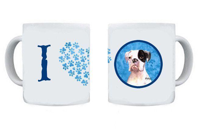 Boxer Dishwasher Safe Microwavable Ceramic Coffee Mug 15 ounce