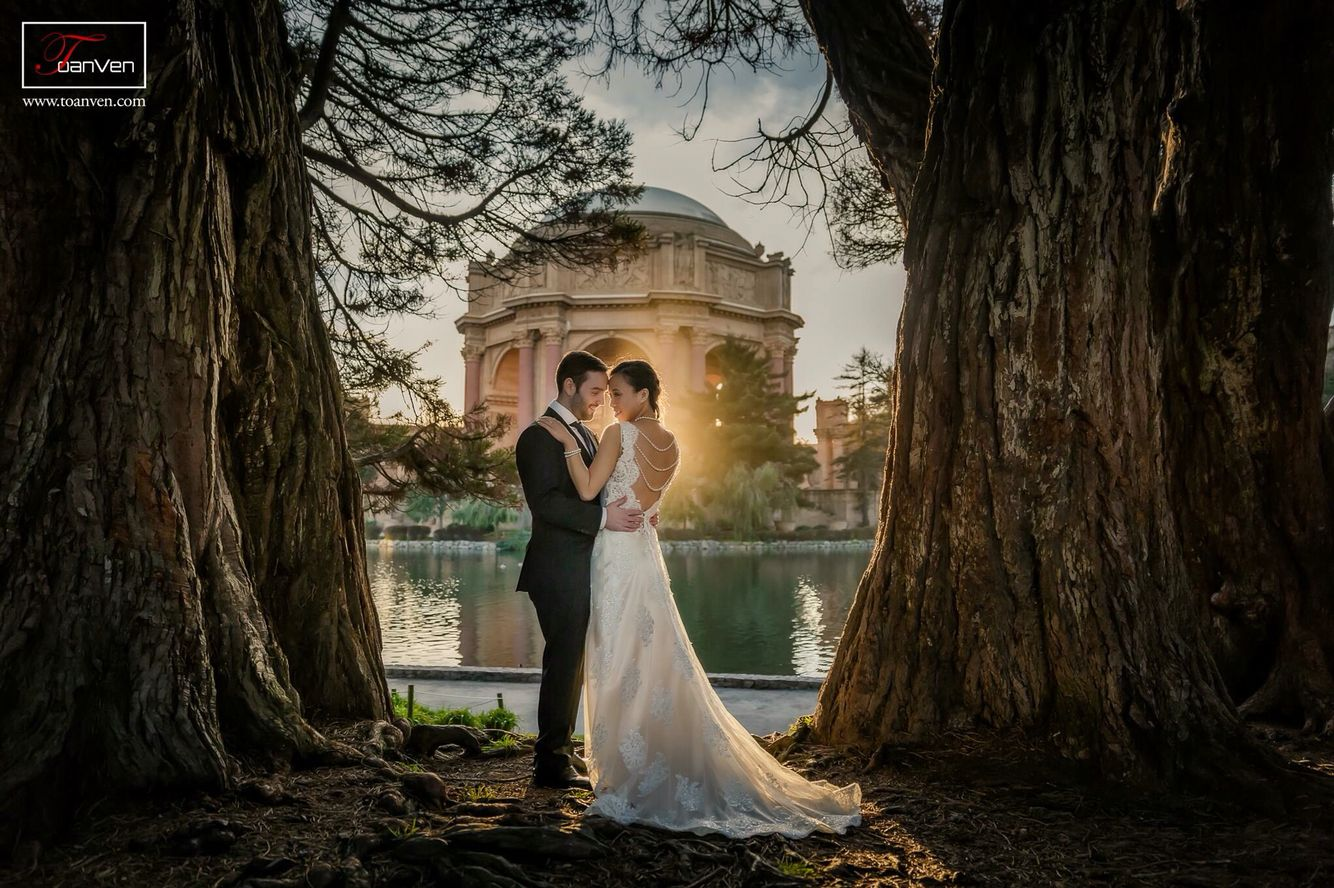Recent prewedding photoshoot at palace of fine arts in san francisco
