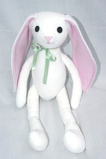 Free Pattern Bunny Plush Sewing Stuffed Animals Stuffed Toys