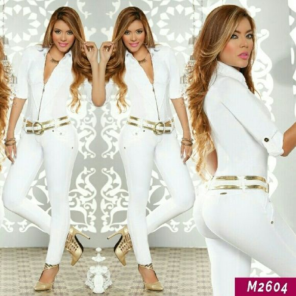 Colombian Butt Lift & Tummy Tuck Jumpsuit No padding   It lifts and shapes your butt   It molds your curves   It flattens your belly   It tones your legs   Unique style and fit   Stretchy material   Finest quality   Made in Colombia   White color   New with tags   Please comment below with your size before purchasing   Price is firm unless we bundled Pants Jumpsuits & Rompers