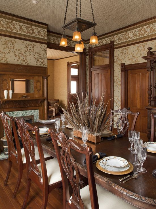 Centerpiece Beautiful Dining Rooms Farmhouse Dining Table