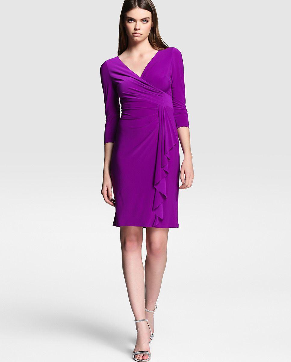 160 Vestido de mujer Lauren Ralph Lauren en color morado | LOOK ...