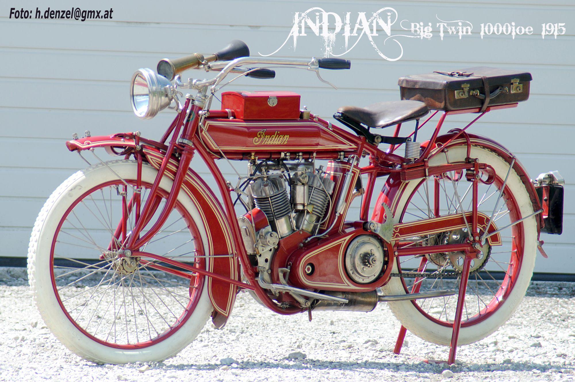 Indian Big Twin 1000ioe 1915