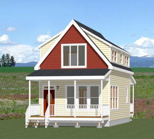 18x30 House -- #18X30H7D -- 999 sq ft