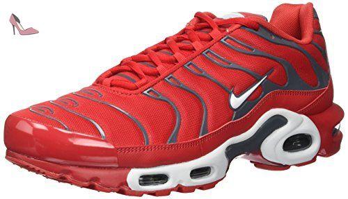 Nike Air Max Plus, Les formateurs homme, Rouge (University Rouge/pure