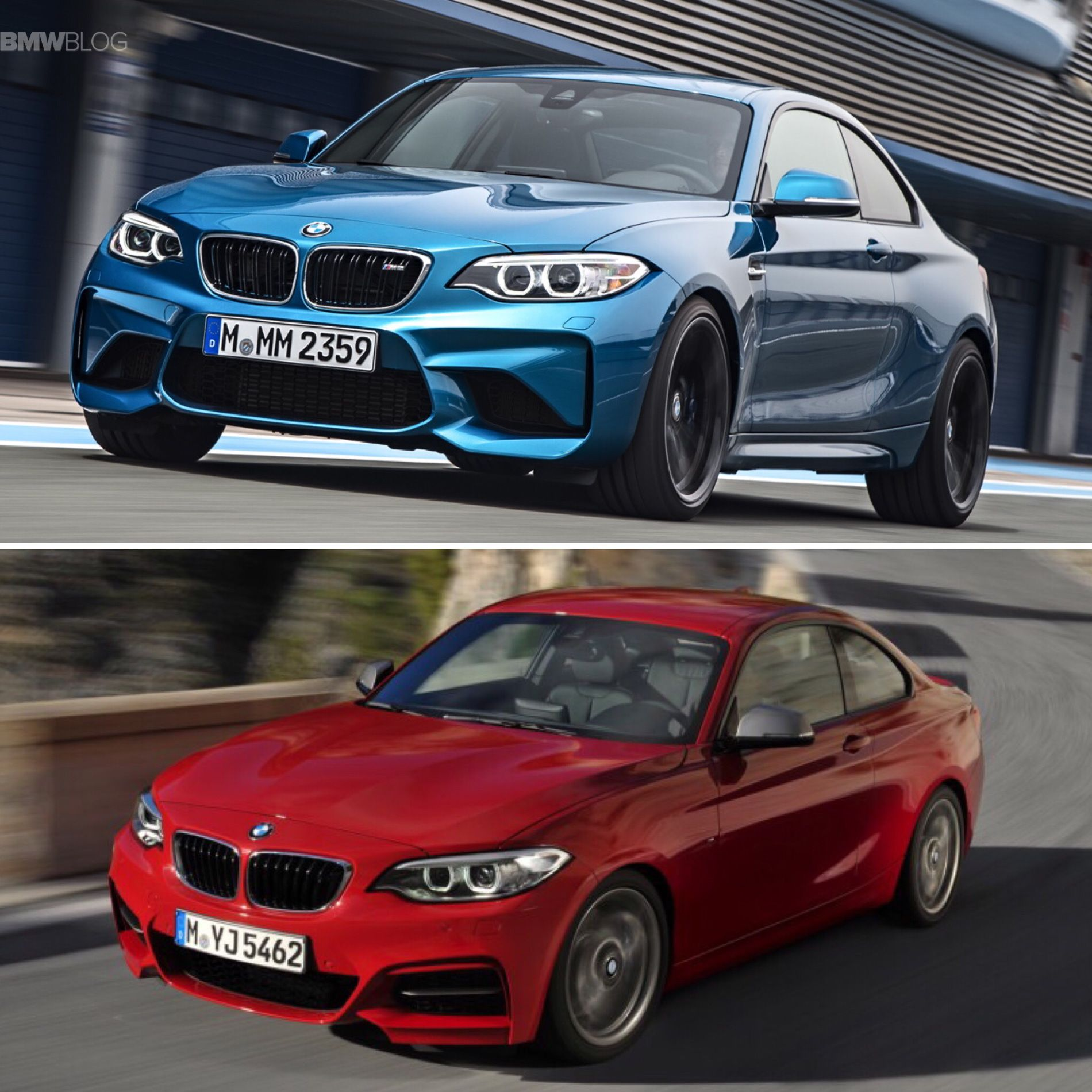 Technical Comparison: BMW M2 vs M235i