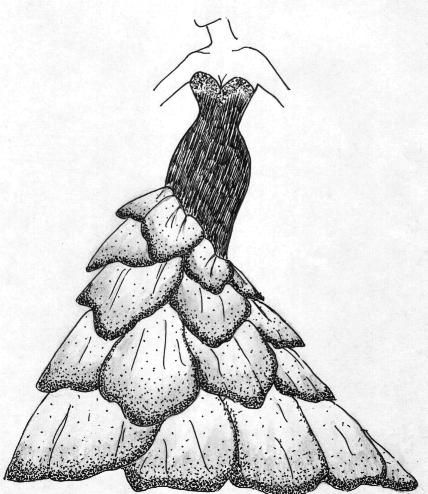 Replicas And Recreations Of Haute Couture Red Carpet Evening Gowns Illustration Fashion Design Fashion Design Sketchbook Fashion Illustration Dresses
