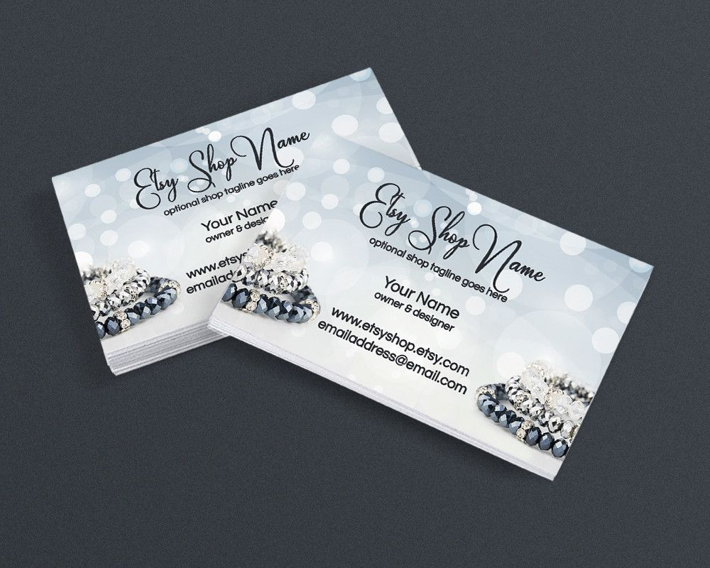 Jewelry Designer Business Card Design Business Card Template - Jewelry business card templates