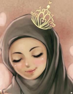 I M So Happy To Be A Muslim Girl Muslim Girls Anime Muslim Hijab Cartoon