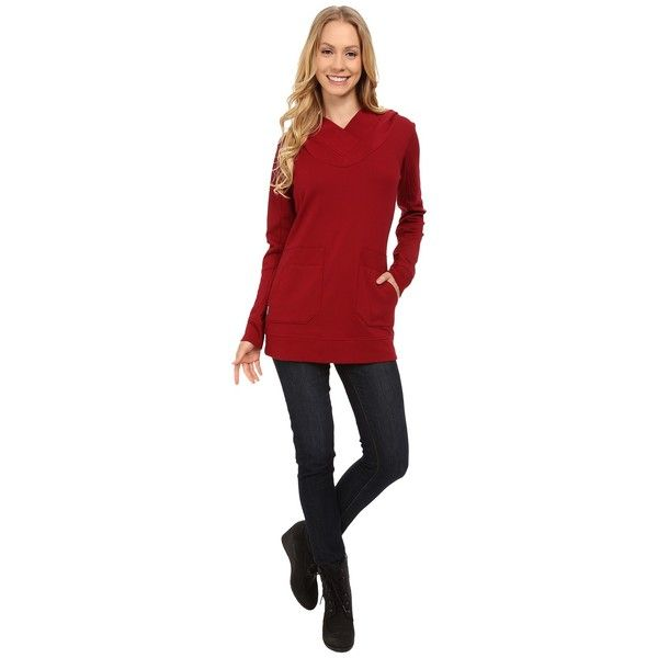 Lole Call You Tunic Women's Long Sleeve Pullover ($90) ❤ liked on ...