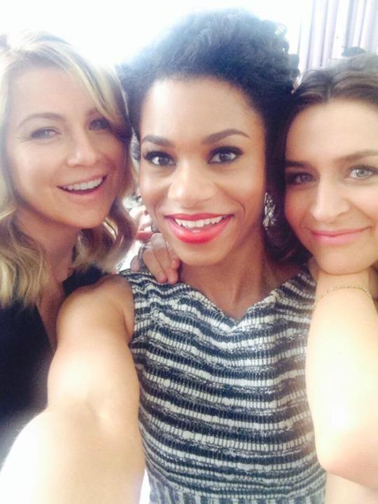 Ellen Pompeo, Kelly McCreary, and Caterina Scorsone | Grey\'s Anatomy ...