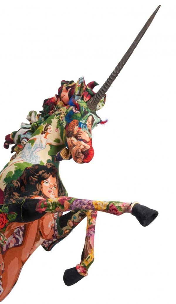 Frederique Morrel - Needlpoint Unicorn