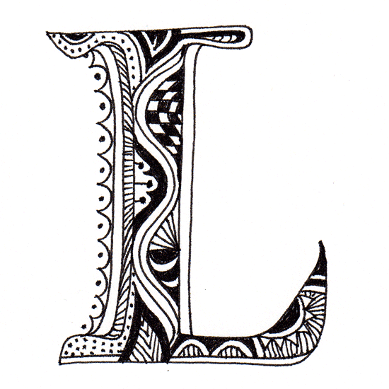 Maori-Inspired Alphabet - The letters were inspired by the ... |Hawaiian Letter Tattoos