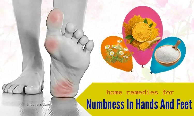 19 natural home remedies for numbness in hands and feet