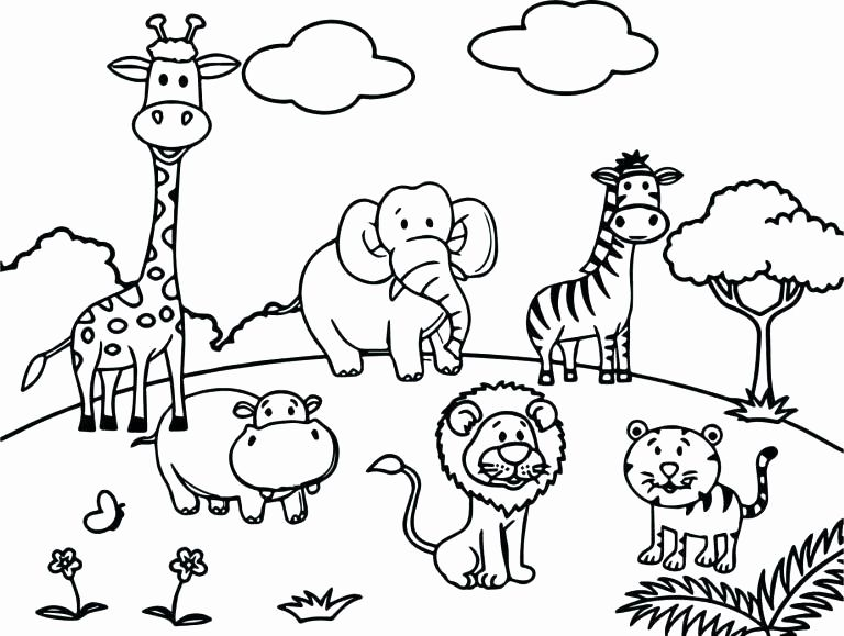 African Animals Coloring Pages Elegant Wild Animal Coloring Pages Best Coloring Pages For Ki In 2020 Zoo Animal Coloring Pages Zoo Coloring Pages Animal Coloring Books