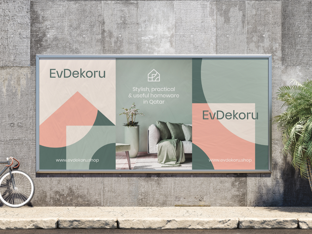 EvDekoru Outdoor Advertising by Alex Spenser for The Faces on Dribbble