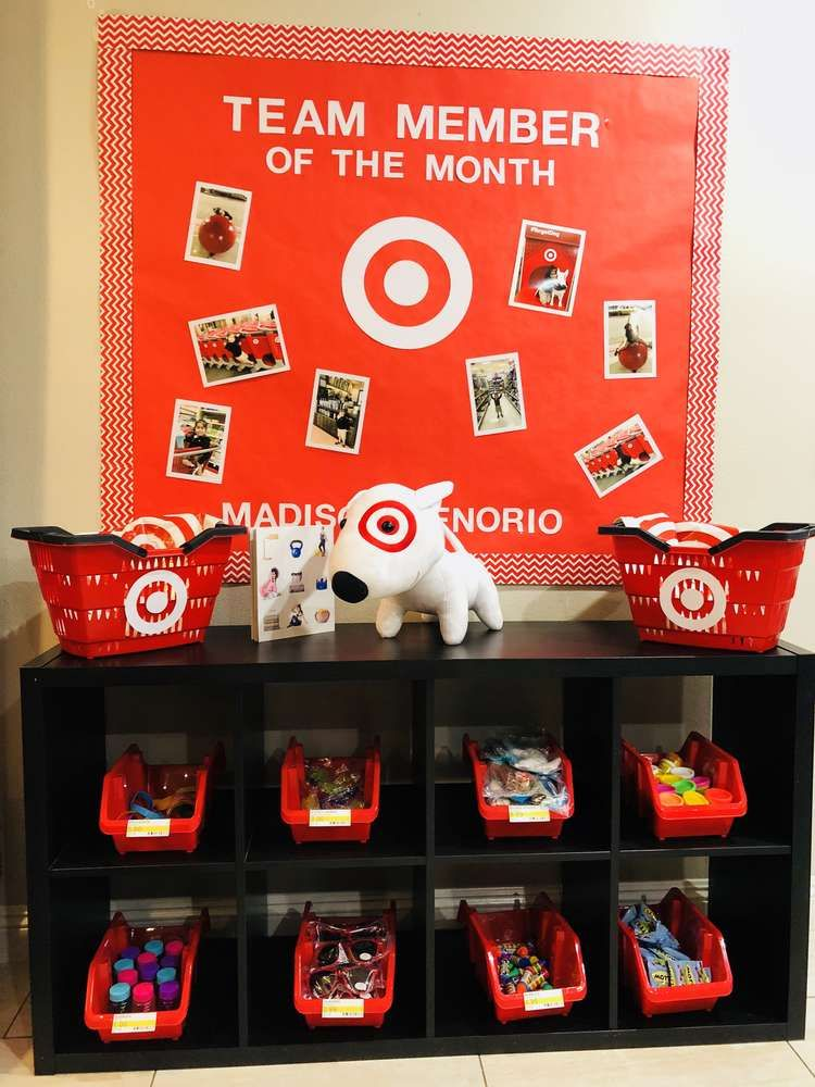 Target Store Birthday Party Ideas Photo 2 Of 16 Catch My Party