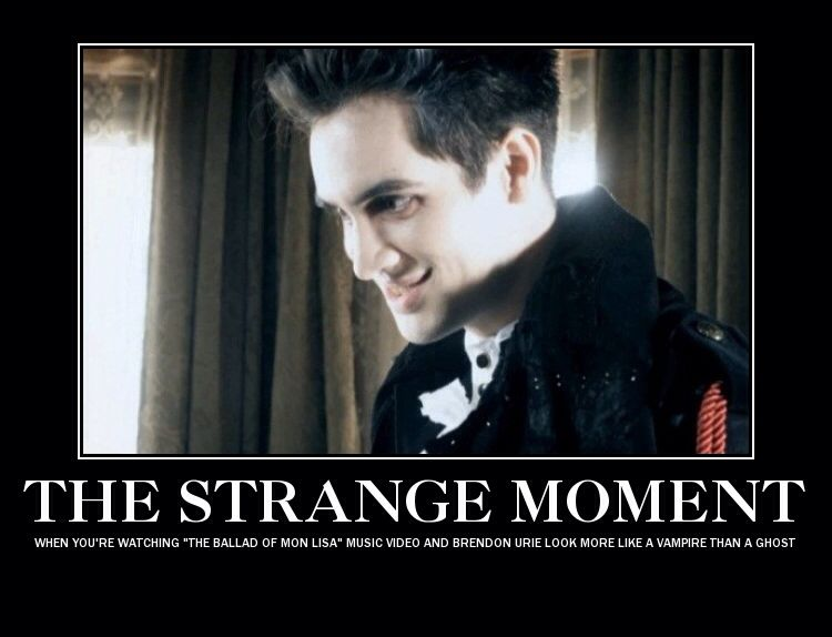 04e55973f334a87e96ea4c0d5e2cbeac i thought he was a vampire at first, too panic! at the disco