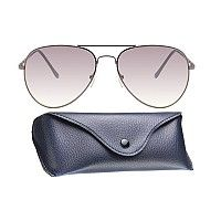 Mask R120 Copper Brown Brown Gradient Aviator Sunglasses, gunmetal, grey  yellow gradient 65d82b7344b
