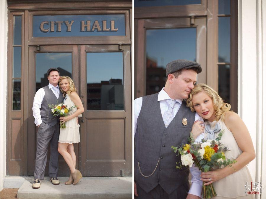 Durham city hall wedding dress