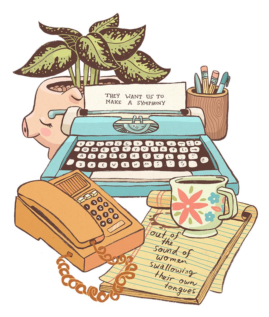 Обои phrase, ink, typewriter. Макро foto 5