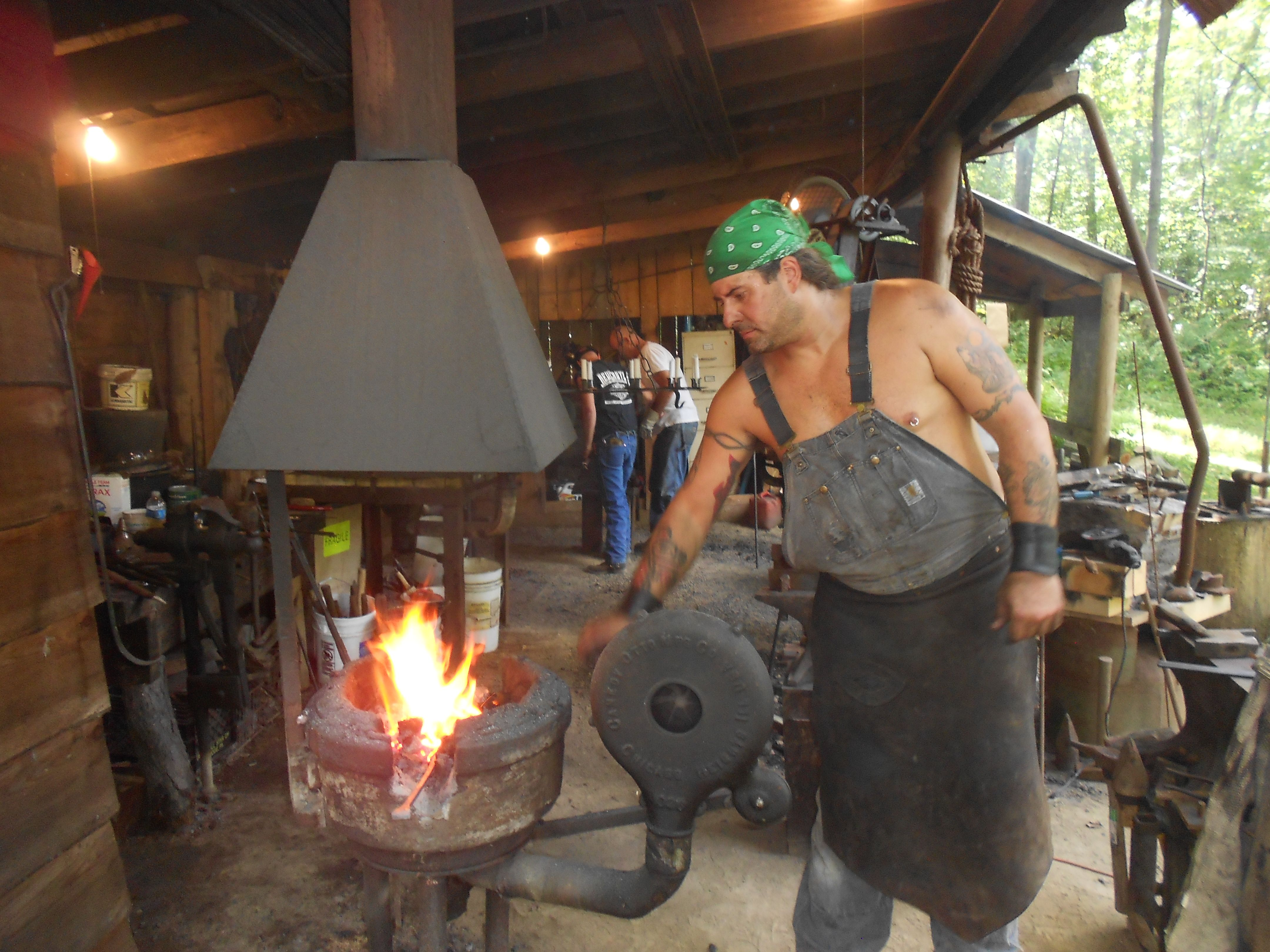 Hammer in my grandpa was a blacksmith making horseshoes for Craft in america forge