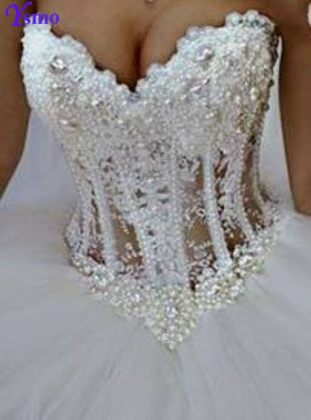 Find More Wedding Dresses Information about Ysmo Luxury Ball Gown Wedding Dresses Crystal Illusion Bodice Robe De Mariage 2016 Major Beading Charming Backless Wedding Gown,High Quality gowns white,China dresses gowns uk Suppliers, Cheap dresses and evening gowns from Ysmo Weddings on Aliexpress.com