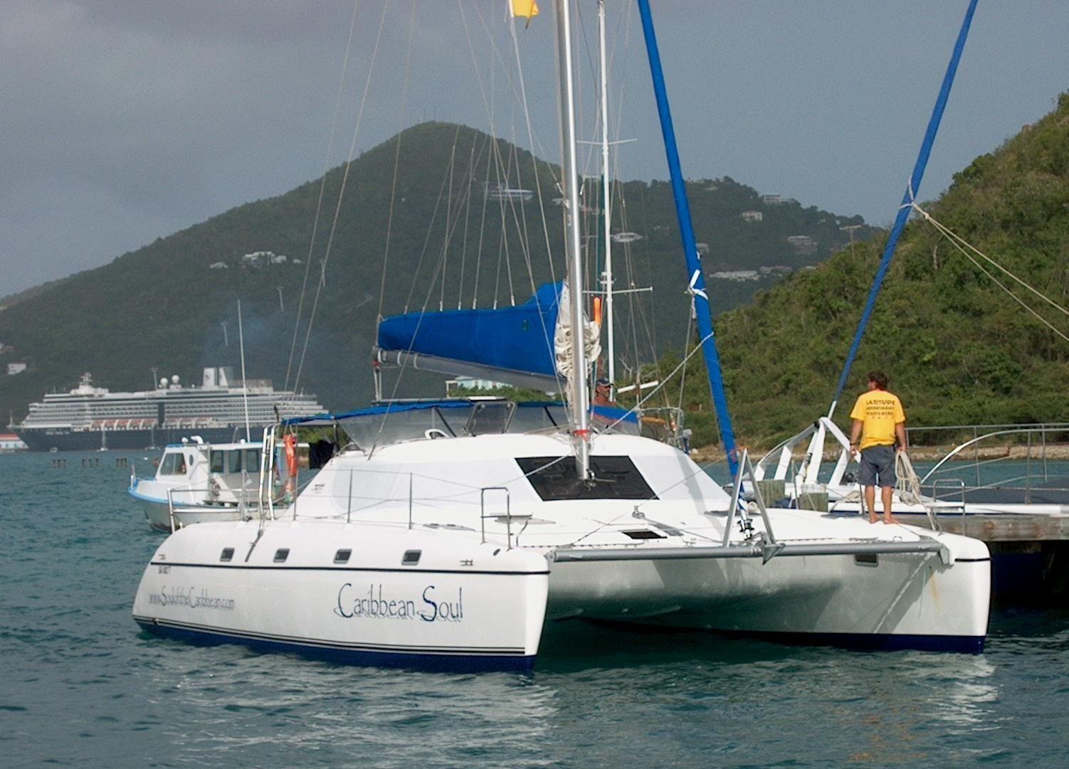 2004 Jaguar Catamarans CAT Sail Boat For Sale www