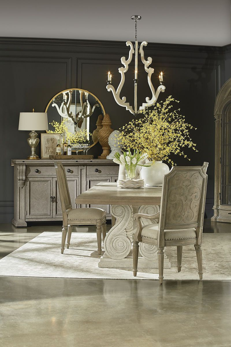 Arch Salvage Mills Side Chair And Arm With Peace Dining Table Fenton