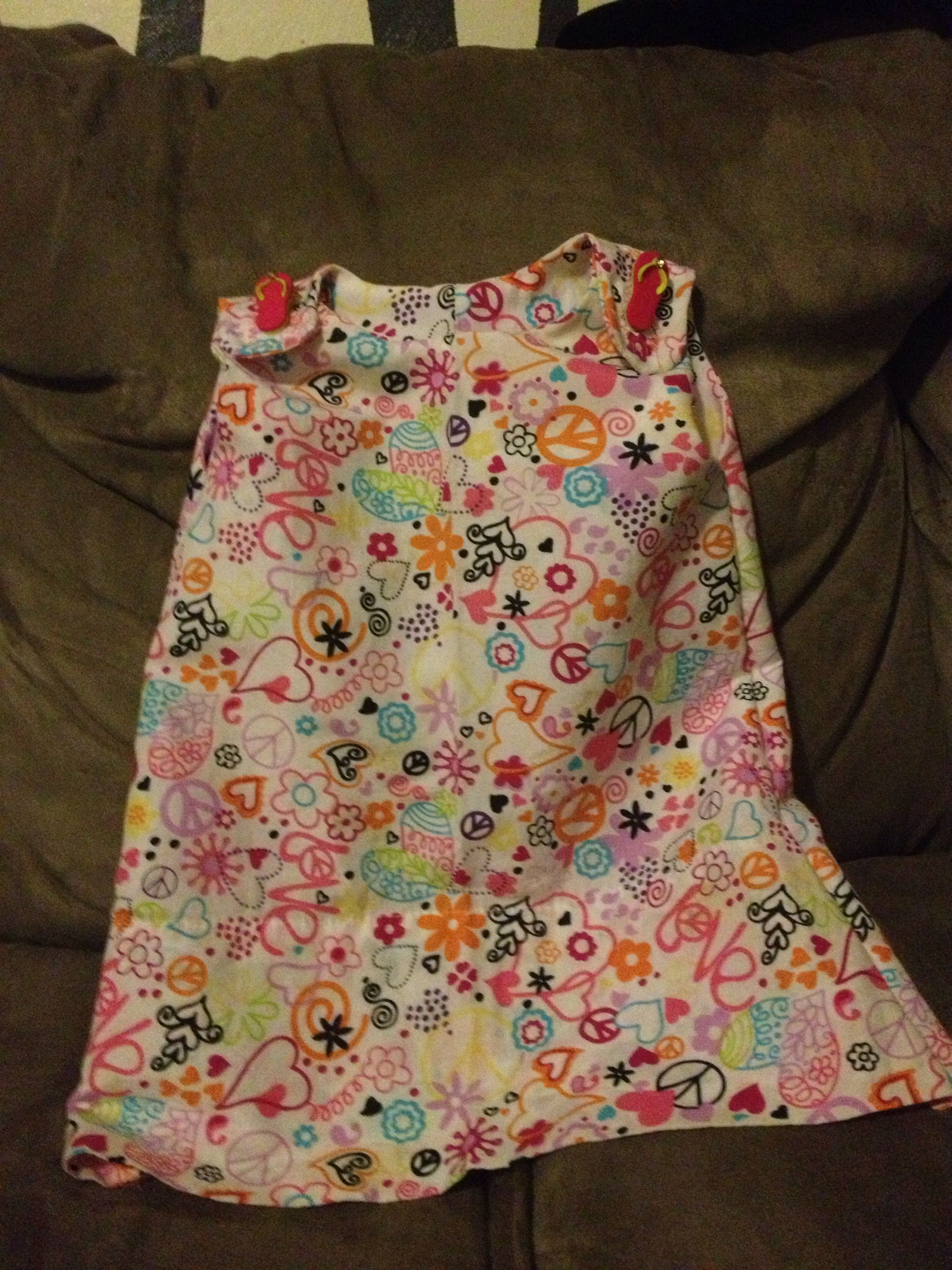 18M dress using a pillow case and thirty minutes.