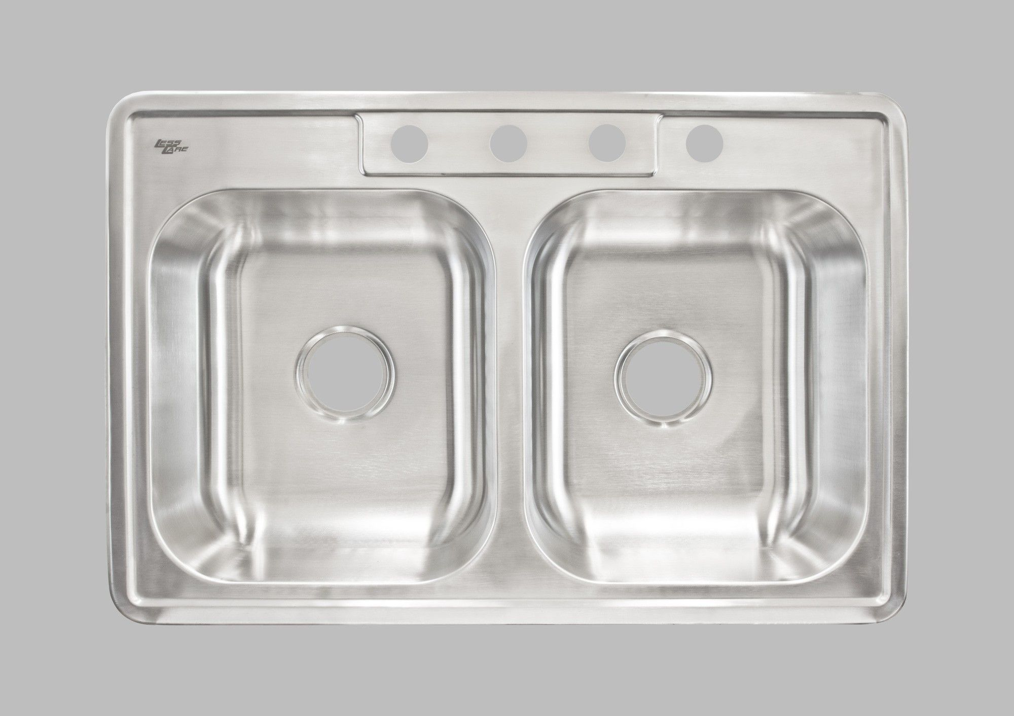Lcltd64 Top Mount Stainless Steel Double Basin Kitchen Sink Top Mount Sinks Double Stainless Steel Kitchen Sink Double Basin Kitchen Sink Double Basin