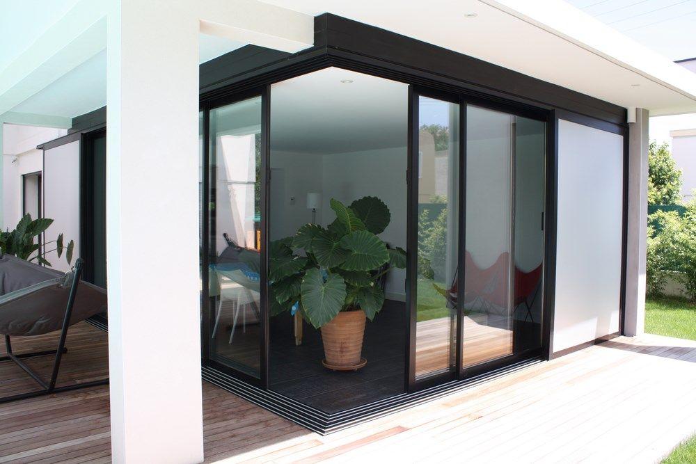 Résultats de recherche du0027images pour « baie vitree angle » maison