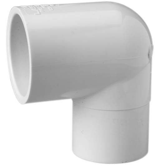1 1 2 Sch 40 Pvc 90 Street Elbow Spig X Soc 409 015 Pvc Fittings Pvc Schedule 40