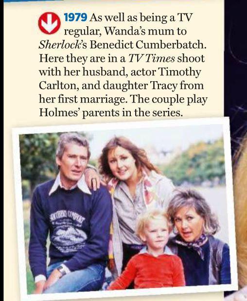 Benedict with parents & older half-sister (click-thru for +1)