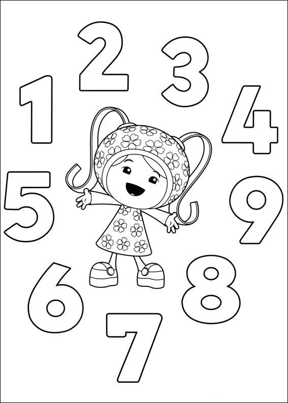 Dibujos para Colorear Umizoomi 5 | coloring pages | Coloring books