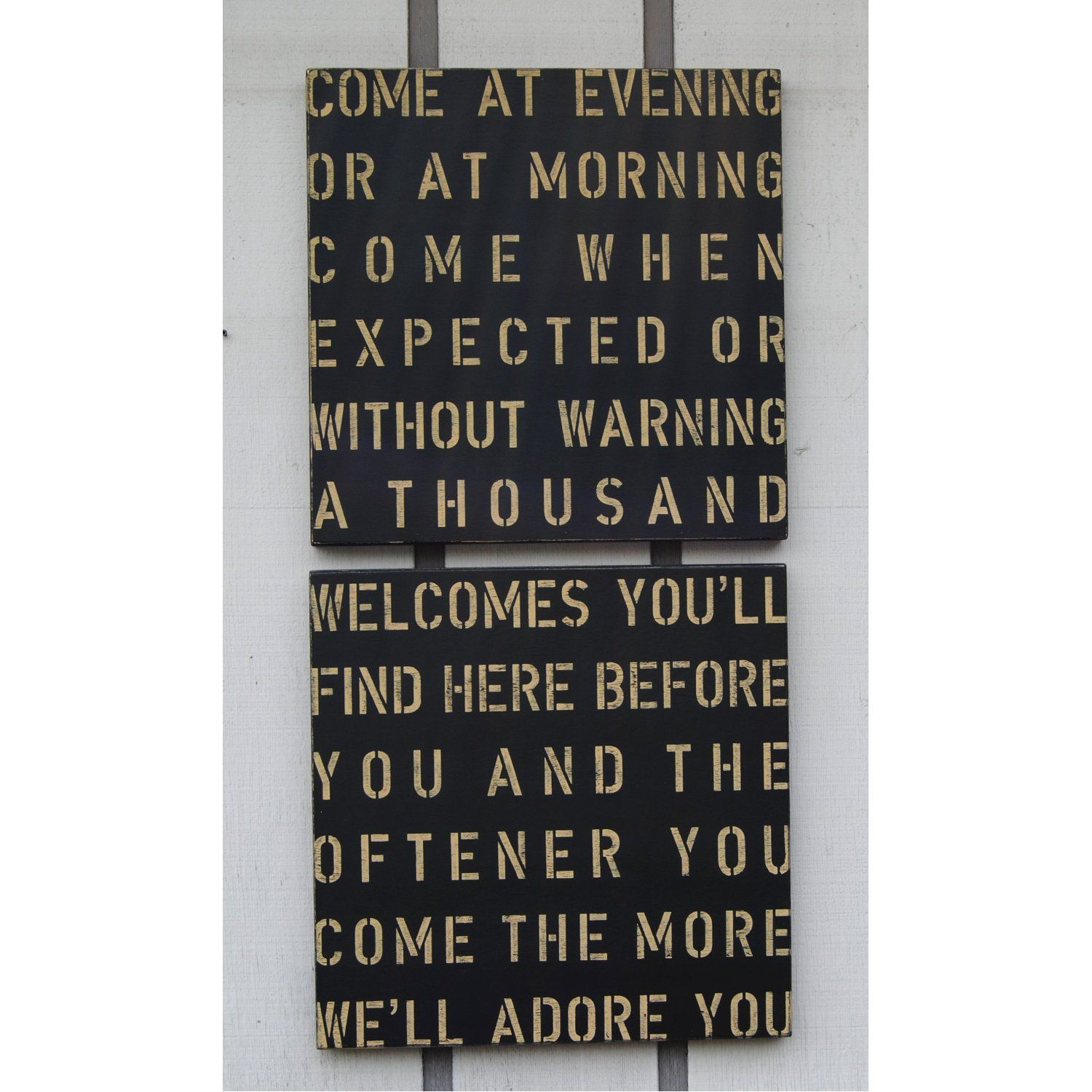 I want this in my home so all know they are welcome