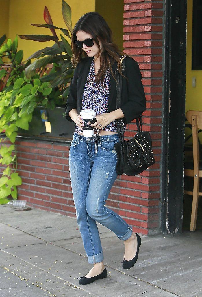 Rachel Bilson Leaving Coffee Table Cafe In Los Feliz