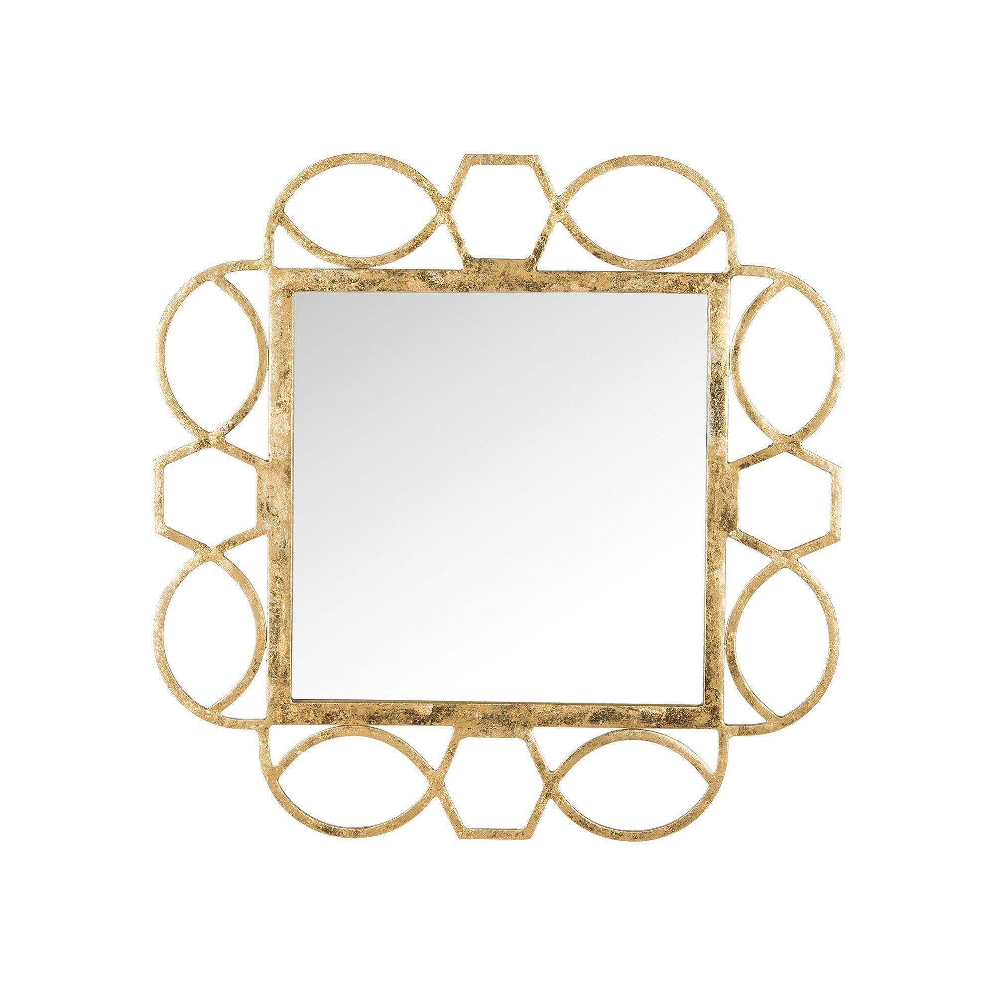 The Safavieh Alexandria Fretwork Wall Mirror  X In Offers