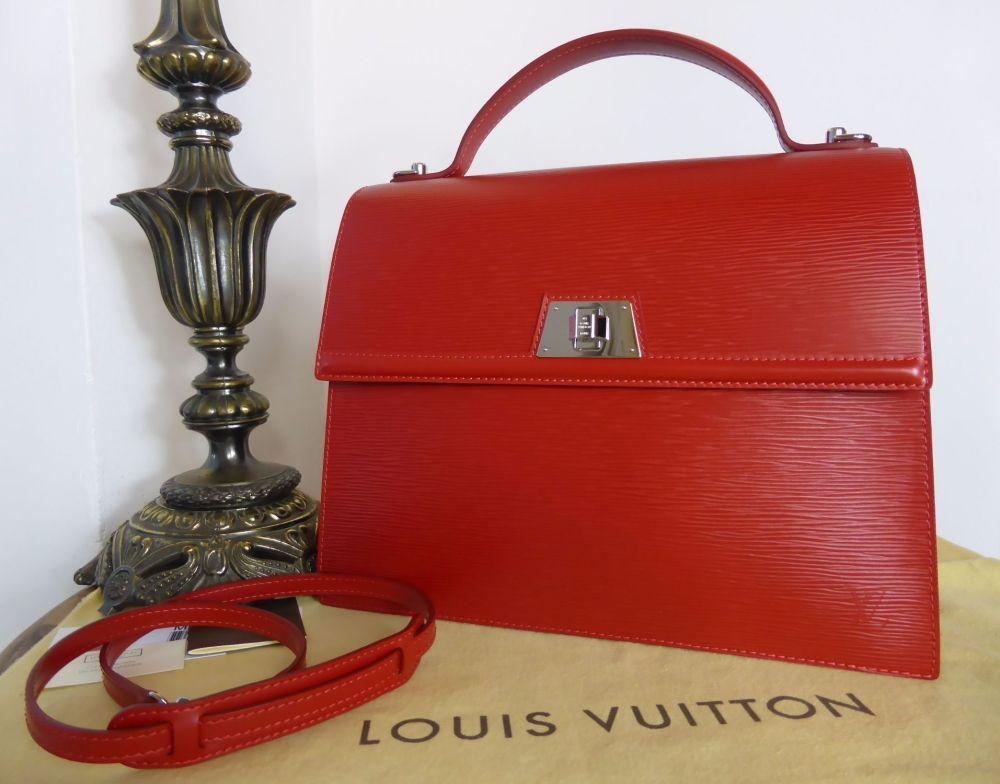 edd0d6019f1c5 Louis Vuitton Sevigne GM in Epi Carmine - As New Louis Vuitton Sevigne GM  in Epi