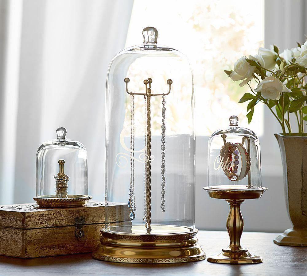 Glass Cloche Jewelry Storage 1000 In 2020 Jewellery