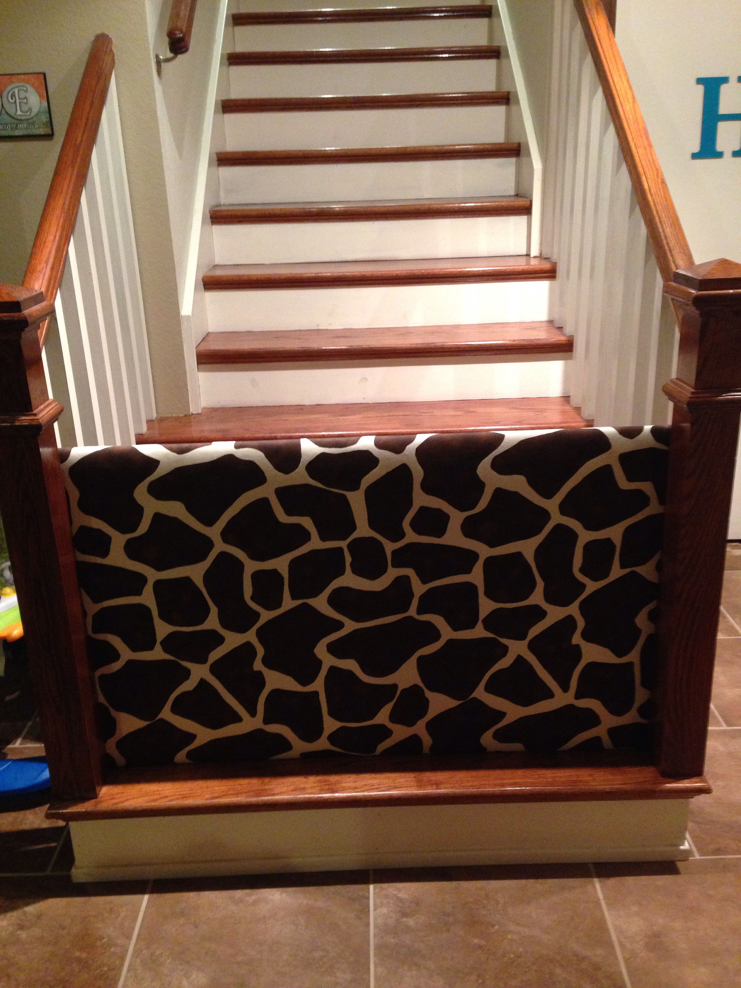 13 Diy Dog Gate Ideas: This Is Our Homemade Baby Gate :). We Never Found One In
