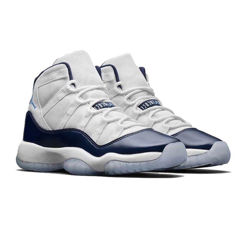 Nike Air Jordan 11 Retro Win Like 96 Original New Arrival Authentic Men s  Basketball Shoes Sport 268df0e87