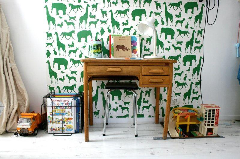 30 Beautiful Kids' Desks & Workspaces Vintage desk