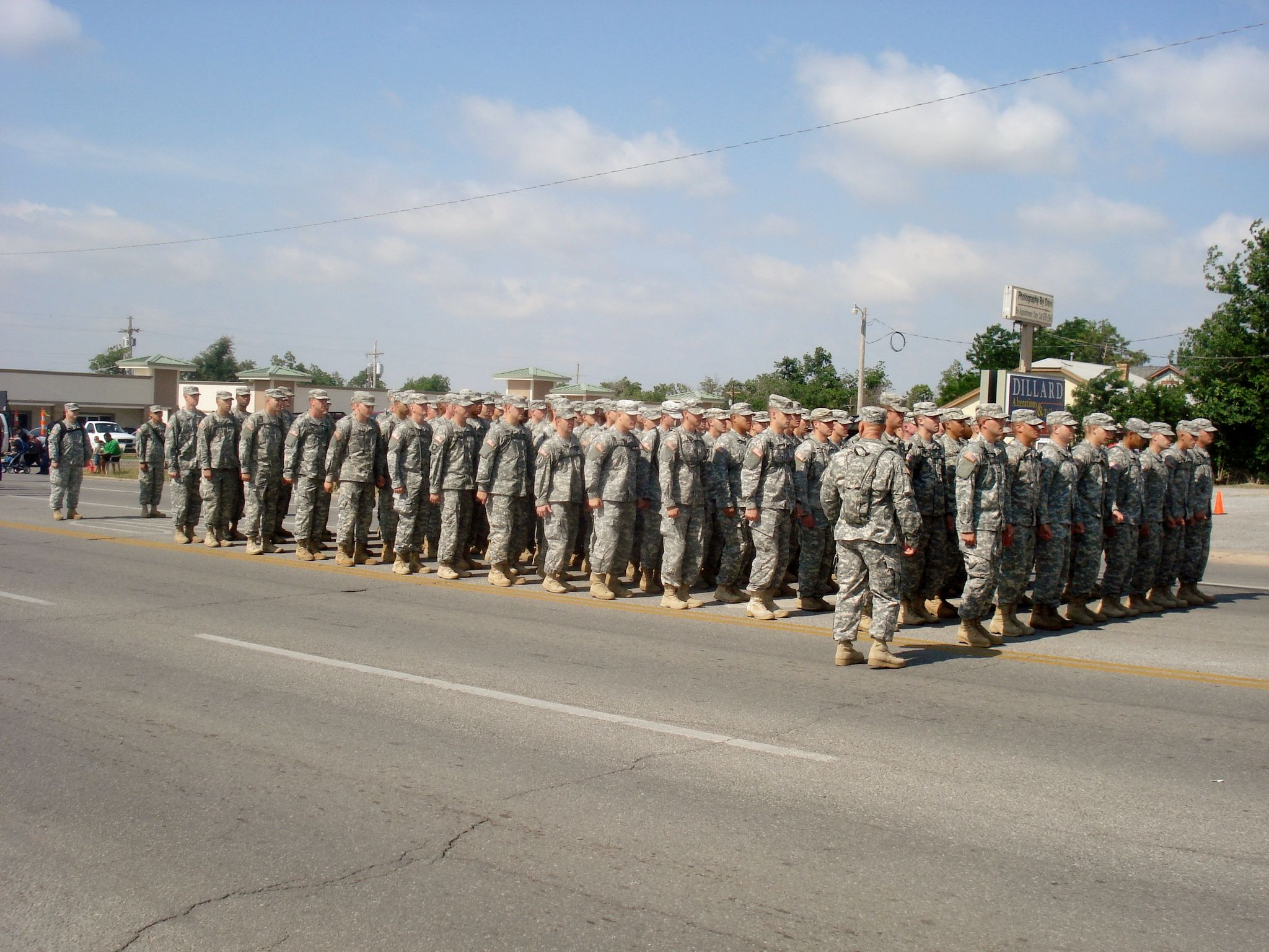 Parade at Lawton Ok Places to travel, Troops, Fort sill