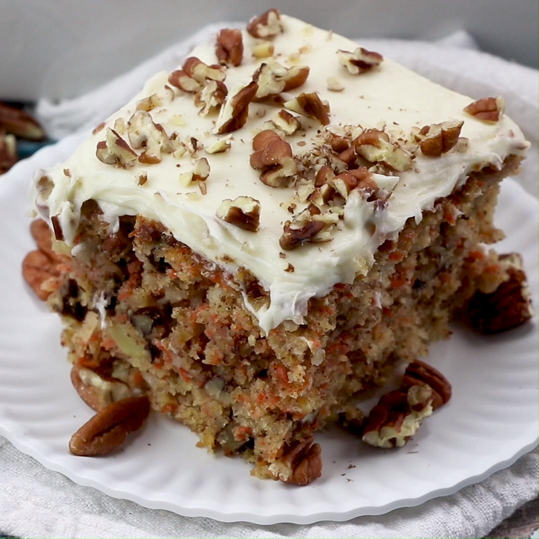 Best Carrot Cake Recipe!
