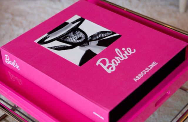 Barbie coffee table book Barbie Pinterest