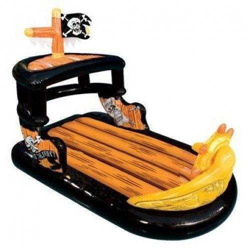 Pirate Ship Boat Pool Raft Float Banzai Ahoy Matey Pool Supplies