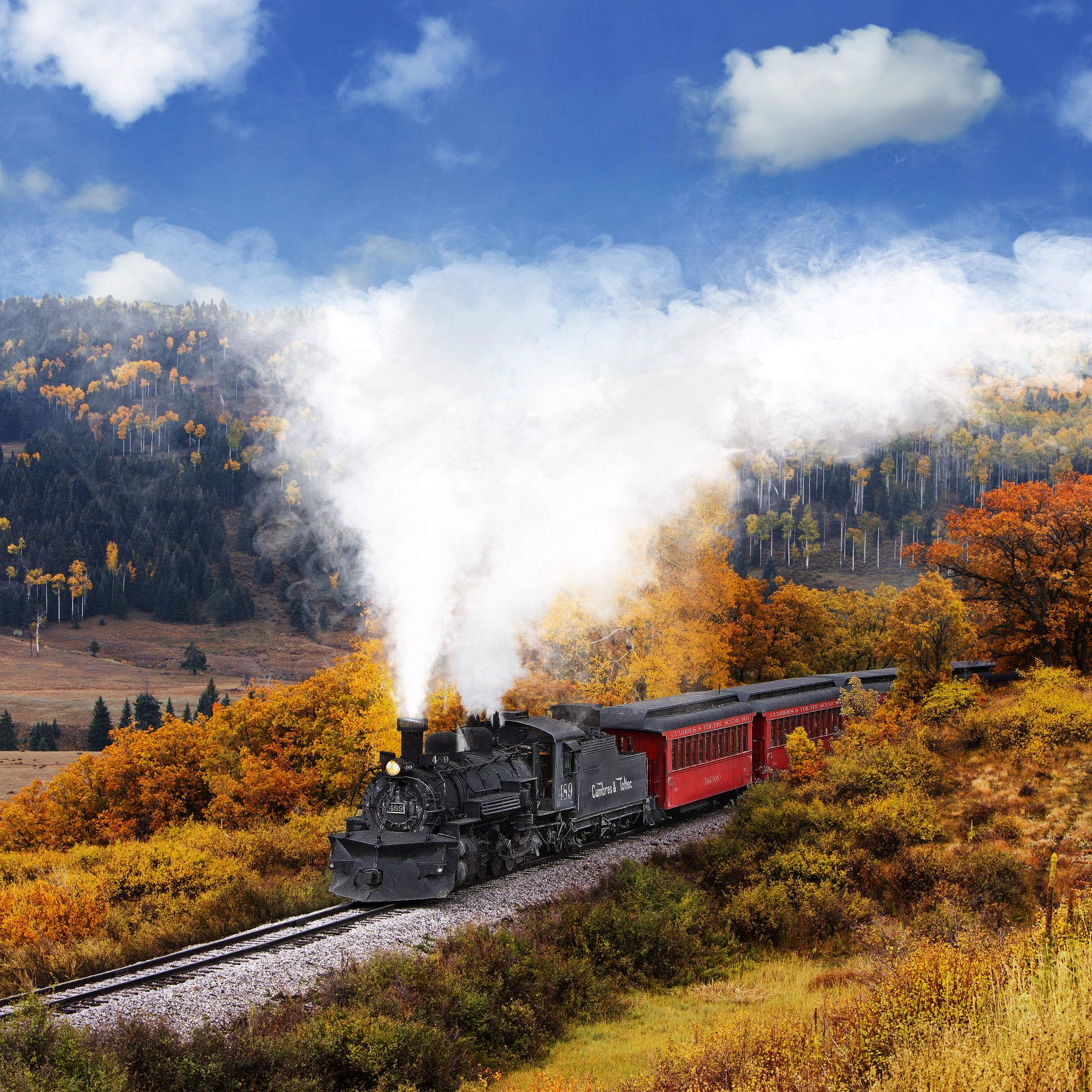 Catch Some Fall Foliage On These Beautiful Train Rides Across The