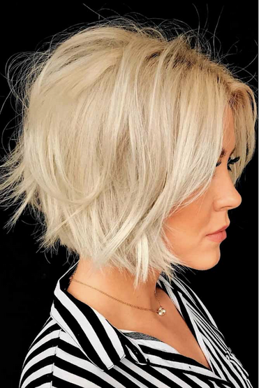 23 Modern Bob Haircuts For Fine Hair 2020 2021 In 2020 Edgy Bob Haircuts Wavy Bob Hairstyles Thick Hair Styles